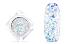 Jolifin Candy Glitter - white