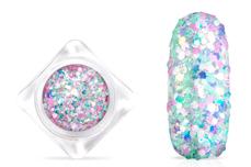 Jolifin Candy Glitter - white mix
