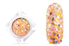 Jolifin Candy Glitter - peach mango
