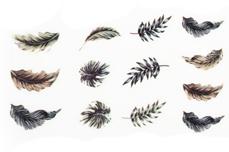 Jolifin LAVENI XL Sticker - Flowers Nr. 12