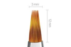 Jolifin Aqua-Glitter Pinsel white - ombre