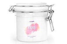 Jolifin Fußmaske - blooming peach 110ml