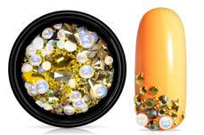 Jolifin LAVENI Luxury Nail-Art Mix - gold & white