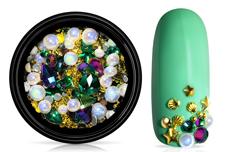 Jolifin LAVENI Luxury Nail-Art Mix - gold & smaragd