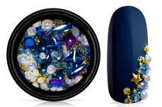 Jolifin LAVENI Luxury Nail-Art Mix - gold & blue