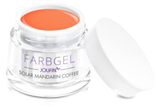 Jolifin Solar Farbgel mandarin coffee 5ml