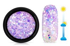 Jolifin LAVENI Solar Glitter - rosy-purple