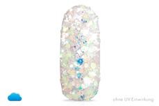 Jolifin LAVENI Solar Glitter - white-peach