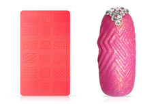 Jolifin 3D Silikon Schablone - Nr. 1