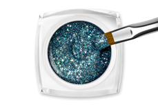 Jolifin LAVENI Farbgel - infinity ocean Glitter 5ml