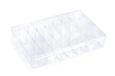 Jolifin Aufbewahrungsbox - 24 verstellbare Fächer