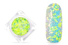 Jolifin Neon Mermaid Glitter - yellow