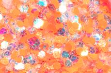 Jolifin Neon Mermaid Glitter - orange
