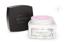 Jolifin LAVENI PRO - Aufbau-Gel clear rosé 30ml