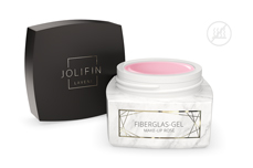 Jolifin LAVENI PRO - Fiberglas-Gel make-up rosé 30ml