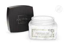 Jolifin LAVENI PRO - Fiberglas-Gel milky babyboomer 30ml