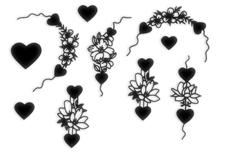 Jolifin LAVENI XL Sticker - Black 7