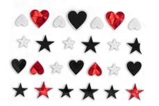 Jolifin LAVENI XL Sticker - Black 10