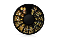 Jolifin LAVENI Strass-Display - luxury gold