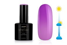 Jolifin LAVENI Shellac - Solar lilac-purple 12ml