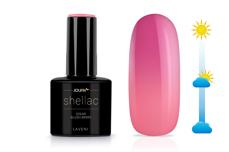 Jolifin LAVENI Shellac - Solar blush-berry 12ml