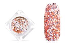Jolifin Candy Glitter - pastell-peach