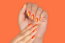 Jolifin LAVENI Shellac PeelOff - neon-mandarin glow 12ml