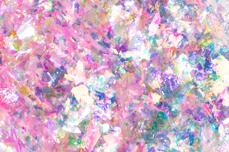 Jolifin Soft Opal Flakes - pink mermaid