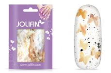 Jolifin Marble Sticker - Butterfly Mix Nr. 1