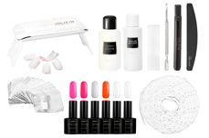 Jolifin LAVENI Shellac Starter-Set - M - Mini Neon