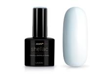 Jolifin LAVENI Shellac - pastell-babyblue pearl 12ml