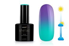 Jolifin LAVENI Shellac - Solar mint-purple 12ml