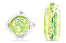 Jolifin Soft Opal Flakes - pastell neon-yellow