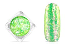 Jolifin Soft Opal Flakes - pastell neon-green