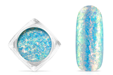 Jolifin Soft Opal Flakes - pastell neon-blue