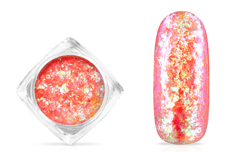 Jolifin Soft Opal Flakes - pastell neon-apricot