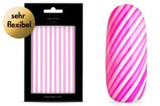 Jolifin LAVENI XL Sticker - Stripes neon-pink flash