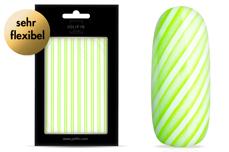 Jolifin LAVENI XL Sticker - Stripes neon-green flash