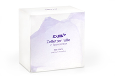 Jolifin 500er Zellettenrolle in Spenderbox - Premium fusselfrei