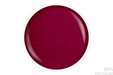 Jolifin LAVENI Shellac - Sand-Effect deep berry 12ml