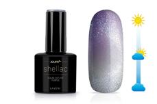 Jolifin LAVENI Shellac - Solar Cat-Eye purple 12ml