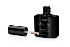 Jolifin LAVENI Shellac - Solar Cat-Eye caramel rose 12ml