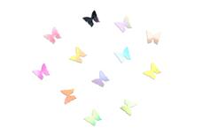 Jolifin XL Nailart-Display - milky butterflies