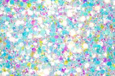 Jolifin LAVENI Festival Glitter - white ocean