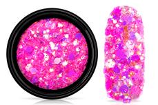 Jolifin LAVENI Festival Glitter - pastell neon-magenta