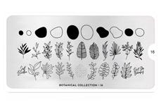 MoYou-London Schablone Botanical Collection 16