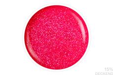 Jolifin LAVENI Shellac - neon-pink confetti 12ml