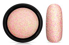 Jolifin LAVENI Matt Sugar Glitter - pink lime