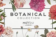 MoYou-London Schablone Botanical Collection 12