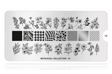 MoYou-London Schablone Botanical Collection 15